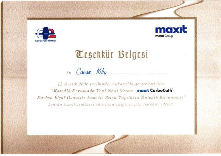 MAXİT BELGE